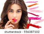 Color Lips.set Of Lipstick  ...