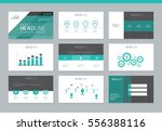 page layout design template for ... | Shutterstock .eps vector #556388116