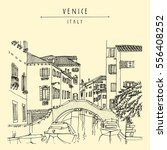 bridge in venice  italy  europe....   Shutterstock .eps vector #556408252