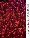 Red Heart Bokeh For Valentine's ...