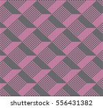 knitting. pattern in the... | Shutterstock .eps vector #556431382