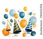 vector illustration of a... | Shutterstock .eps vector #556431556
