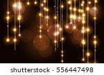 abstract bokeh effect gold... | Shutterstock .eps vector #556447498