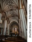 Small photo of WARSAW, POLAND - JUNE 7 2015: St. Johns Archcathedral in is Catholic church in Old Town. St. John stands immediately adjacent to Warsaws Jesuit church, and mother church of archdiocese of Warsaw.