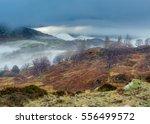 Winter Lake District Landscape...