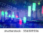 data analyzing in forex... | Shutterstock . vector #556509556