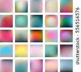 Set Of 25 Abstract Colorful...