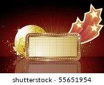 vector illustration of  retro... | Shutterstock .eps vector #55651954