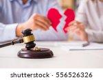 judge gavel deciding on... | Shutterstock . vector #556526326
