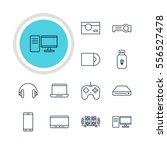vector illustration of 12... | Shutterstock .eps vector #556527478