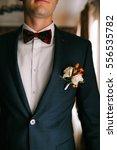 grooms morning preparation.... | Shutterstock . vector #556535782