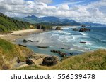View of cannon beach and indian ...