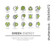 vector icon style logo set of... | Shutterstock .eps vector #556545472