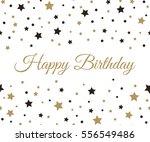 happy birthday background.   Shutterstock . vector #556549486