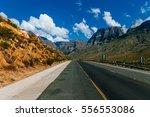 the garden route  cape province ... | Shutterstock . vector #556553086