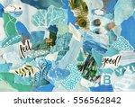 creative atmosphere art mood... | Shutterstock . vector #556562842