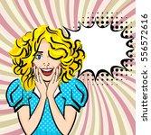 vector illustration woman... | Shutterstock .eps vector #556572616