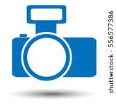 camera icon. flat icon of camera | Shutterstock .eps vector #556577386