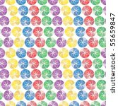 vivid colorful repeating... | Shutterstock .eps vector #55659847