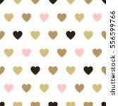 seamless background hearts. | Shutterstock . vector #556599766