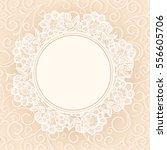 template  frame design for... | Shutterstock .eps vector #556605706