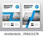 business brochure design.  | Shutterstock .eps vector #556611178