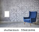 wall with different home... | Shutterstock . vector #556616446