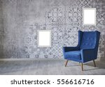 wall with different home... | Shutterstock . vector #556616716
