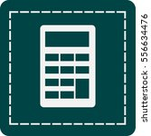 flat icon of calculator   Shutterstock .eps vector #556634476