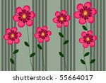 flower | Shutterstock .eps vector #55664017