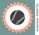 baseball vector icon. sport... | Shutterstock .eps vector #556657762