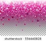 glitter hearts confetti falling ... | Shutterstock .eps vector #556660828