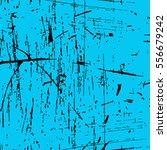 turquoise paint. shabby blue...   Shutterstock .eps vector #556679242