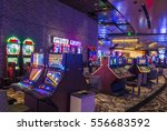 las vegas   nov 24   aria hotel ... | Shutterstock . vector #556683592