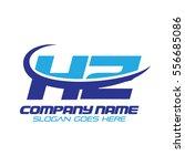 hz logo | Shutterstock .eps vector #556685086