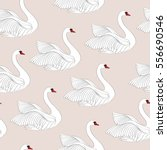seamless pattern with white... | Shutterstock .eps vector #556690546