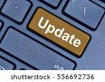 update word on keyboard button... | Shutterstock . vector #556692736
