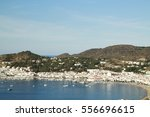 view of the municipality of el... | Shutterstock . vector #556696615