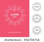 creative design concept with... | Shutterstock .eps vector #556736716