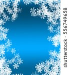 snowflake background | Shutterstock . vector #556749658
