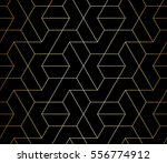 abstract geometric pattern with ... | Shutterstock .eps vector #556774912