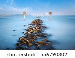 fantastic seascape view at...   Shutterstock . vector #556790302