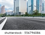 urban traffic with cityscape in ... | Shutterstock . vector #556796086