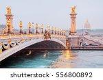view on the  bridge of...   Shutterstock . vector #556800892