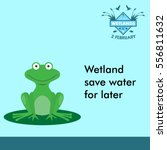 World Wetlands Day Cartoon...