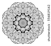 flower mandalas. vintage... | Shutterstock .eps vector #556819162