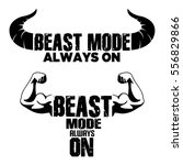 Beast Mode On Vector Graphic...