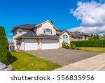 big custom made luxury house... | Shutterstock . vector #556835956