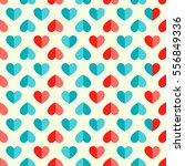 vector seamless pattern with... | Shutterstock .eps vector #556849336