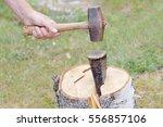 Hand Holding A Sledgehammer ...